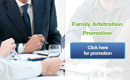 As parties to a family arbitration you can: